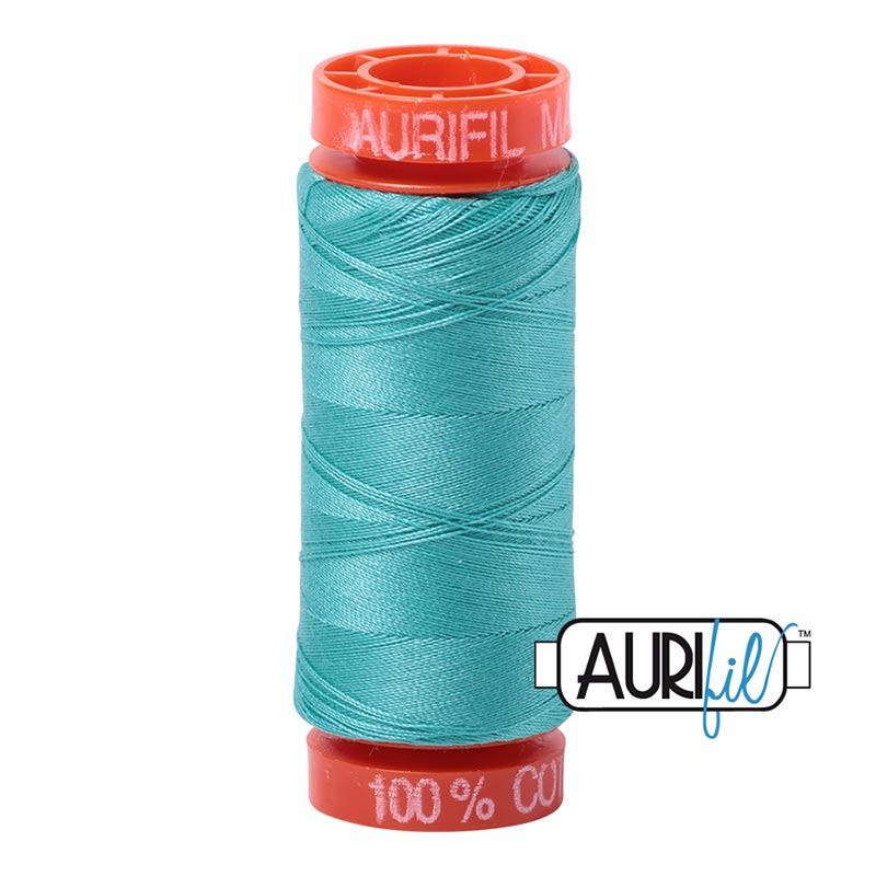 Light Turquoise 50 wt 1422 yards New AURIFIL Large Spool Thread 2805