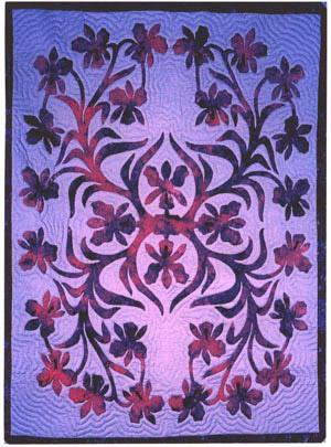 Hawaiian Quilt Patterns   Pacific Rim Quilt Company : orchid quilt pattern - Adamdwight.com