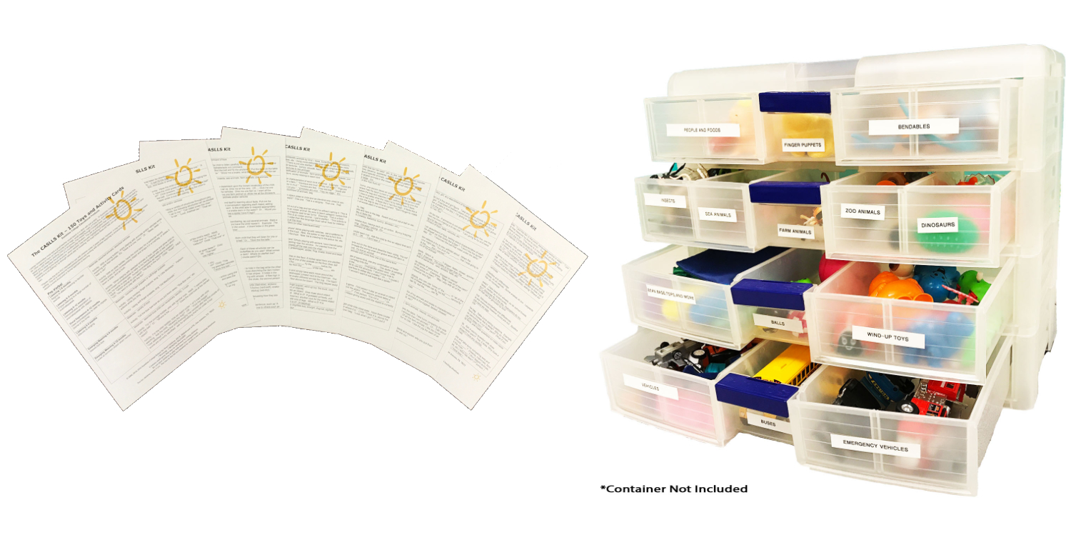 CASLLS Kit (150 toys and Activity Cards)