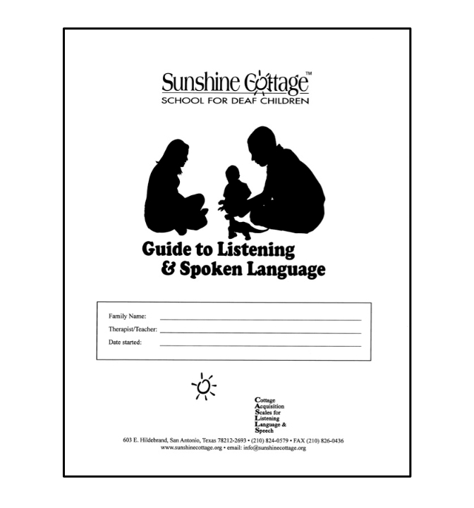 Guide to Listening and Spoken Language