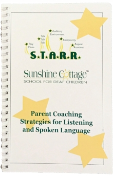 S.T.A.R.R. Parent Coaching Strategies for Listening and Spoken Language - Booklet