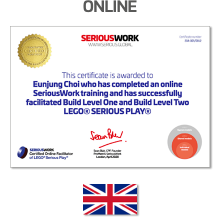 Online LEGO® Serious Play® Facilitator Training. Full Fee + Books Download & LEGO Bricks