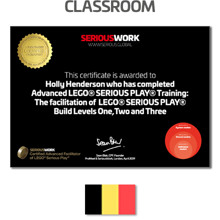 ADVANCED LEGO® Serious Play® Facilitator Training in Brussels