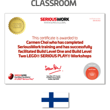 LEGO® Serious Play® Facilitator Training - Full Payment & Books Download
