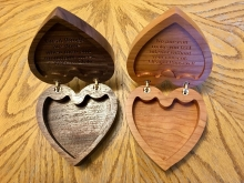 Ring Bearer Box - Small Pair